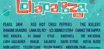 LINE UP – Lollapalooza 2018